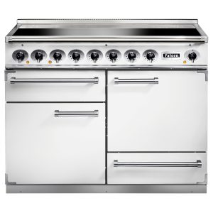 Falcon F1092DXEIWH 1092 Deluxe Induction Range Cooker In Ice White