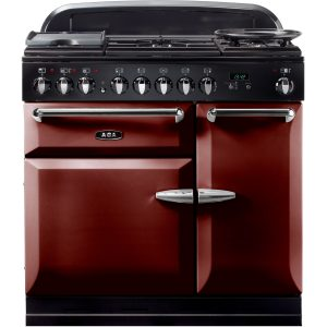 AGA MENMSF_CBY Masterchef XL Dual Fuel Cranberry Range Cooker 90cm