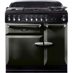 AGA MENMSF_PWT Masterchef XL Dual Fuel Pewter Range Cooker 90cm