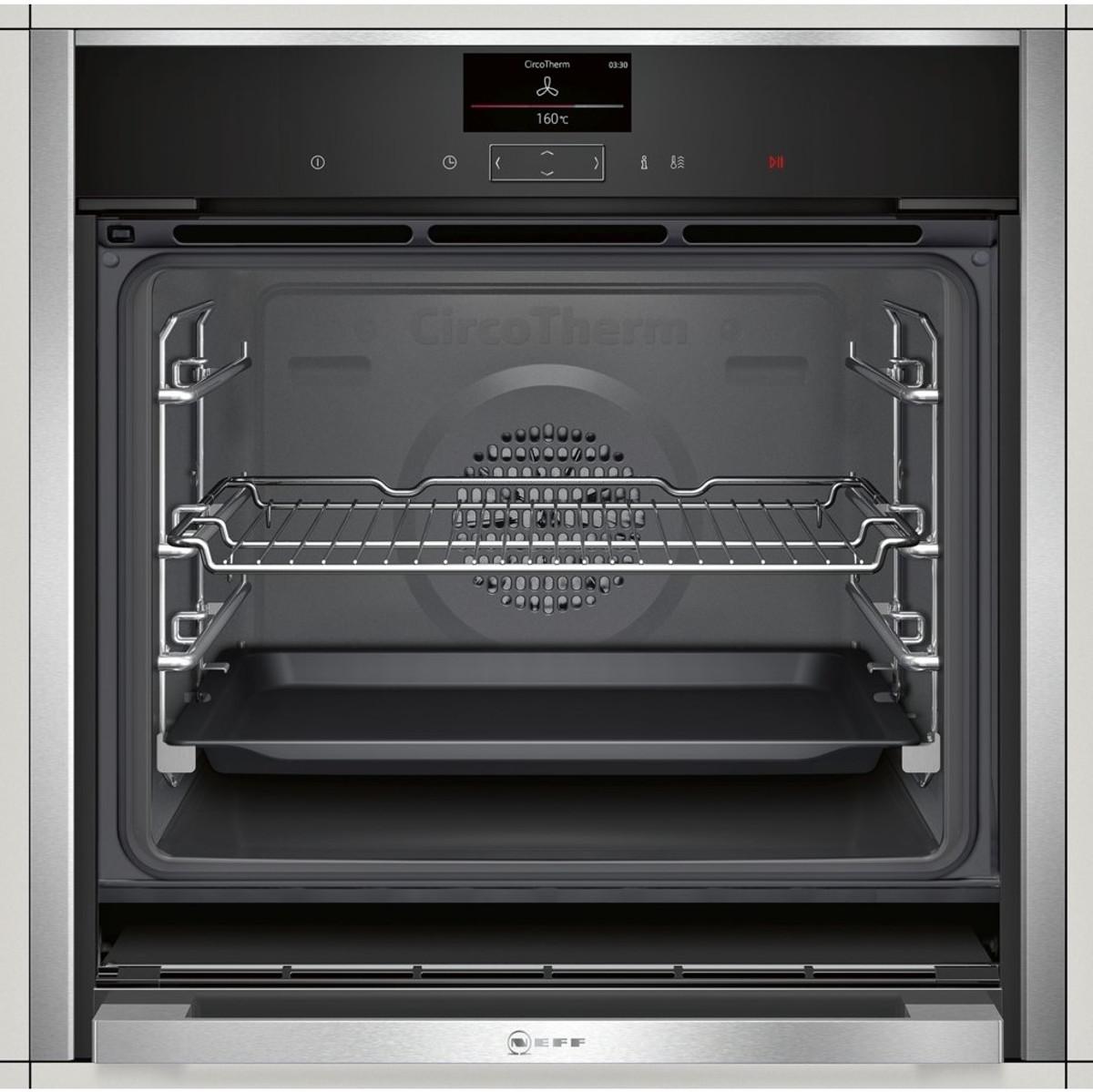 neff b47cs34n0b slide hide single oven discount. Black Bedroom Furniture Sets. Home Design Ideas