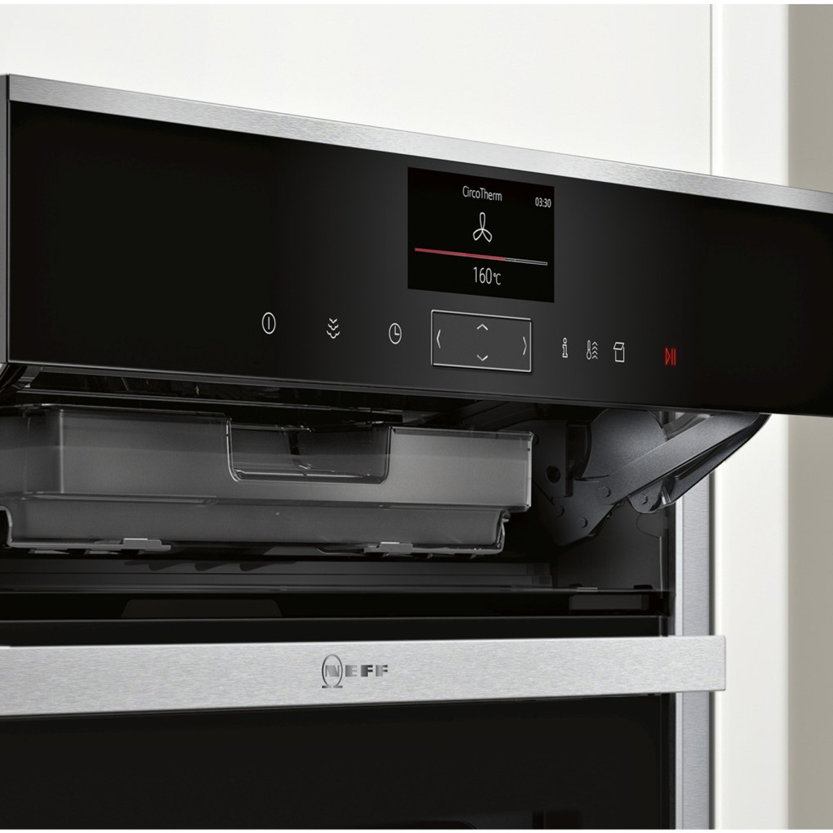 neff b47vs34n0b slide hide single oven discount appliance centre. Black Bedroom Furniture Sets. Home Design Ideas