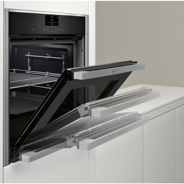 Neff B57CS24N0B Slide & Hide Pyrolytic Single Oven