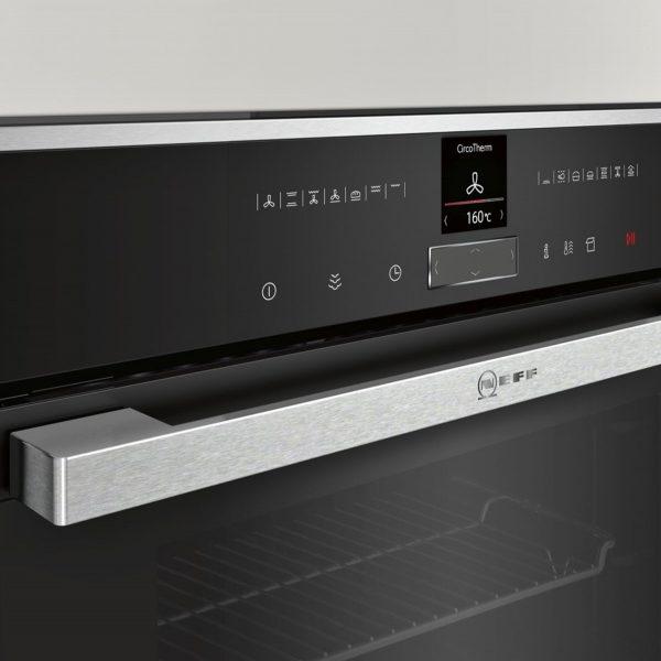 Neff B57VR22N0B Slide & Hide Pyrolytic Single Oven