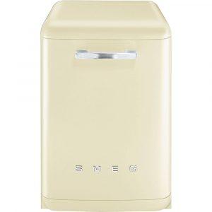 Smeg DF6FABCR Cream Retro Freestanding Dishwasher