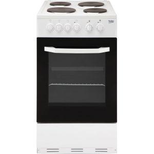 Beko 50cm Electric Cooker BCSP50W