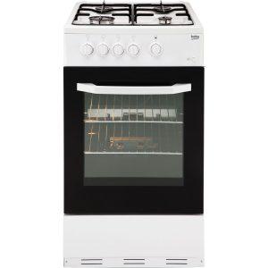 Beko BCSG50W 50cm Gas Cooker Single Oven