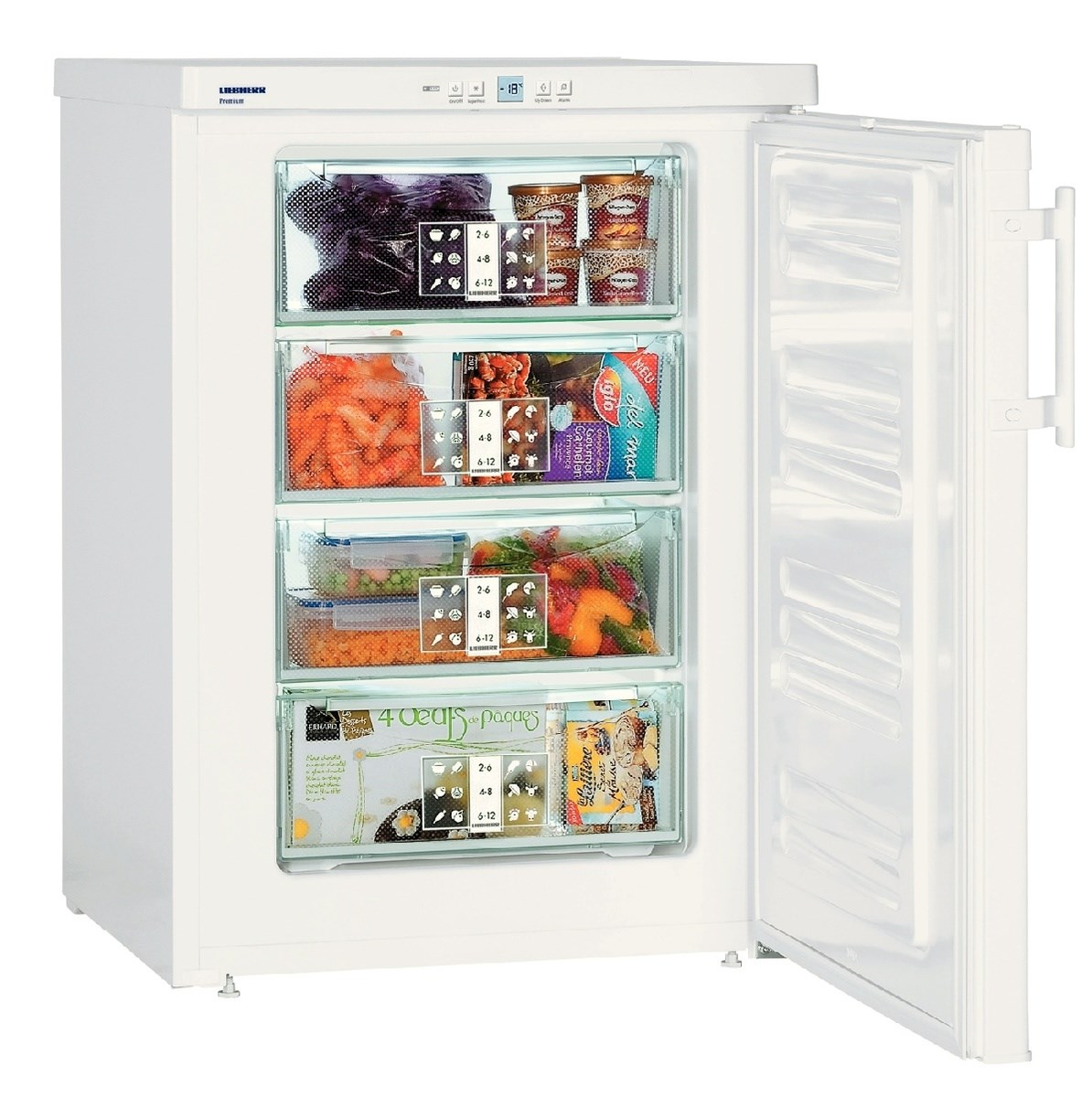 Liebherr GP1476 Premium Table Height Freezer White