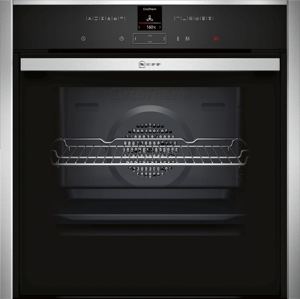 Neff B57CR22N0B Slide & Hide Pyrolytic Single Oven