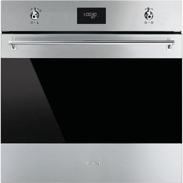 "Smeg 60cm ""Classic"" Multifunction Oven SF6372X"