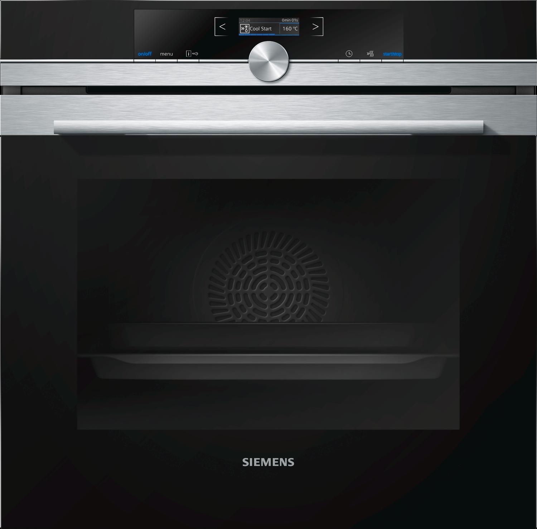 Siemens iQ700 HB672GBS1B Single Oven