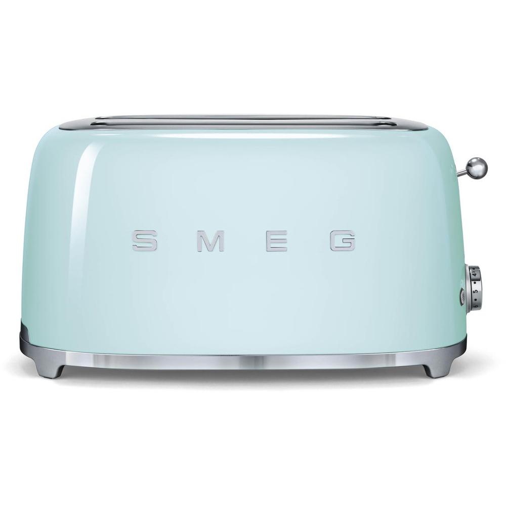 buy smeg tsf02pguk 50 39 s retro style 4 slice toaster. Black Bedroom Furniture Sets. Home Design Ideas