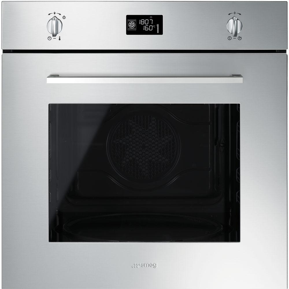 "Smeg SFP496XE 60cm ""Cucina"" Pyrolytic Multifunction Oven"