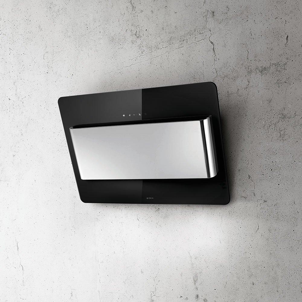 buy elica verve 80 blk vertical hood discount appliance. Black Bedroom Furniture Sets. Home Design Ideas