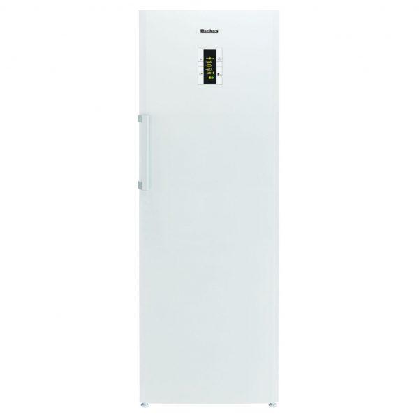 Blomberg FNT9673P Tall Freestanding Frost Free Freezer In White