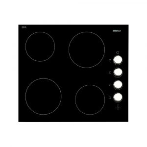 Beko HIC64102 Frameless Ceramic Hob with Control Knobs