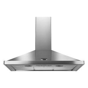 Rangemaster LEIHDC110SC 110cm Standard Cooker Hood – Stainless Steel with Chrome – Stock Clearance