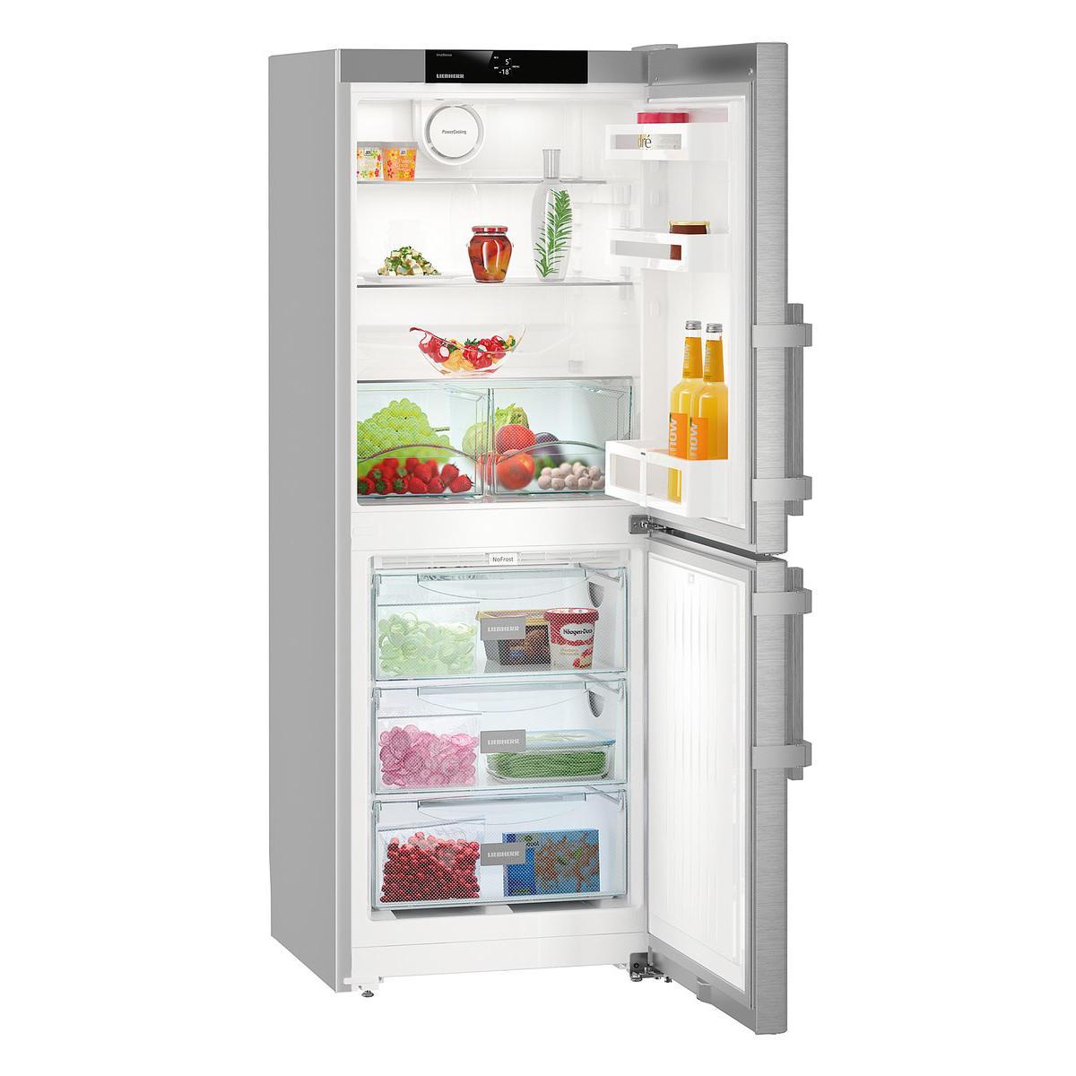 liebherr-cnef-3115-comfort-fridge-freezer-stainless-steel-and-silver