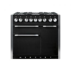 Mercury MCY1000DFAB 100cm Range Cooker in Ash Black