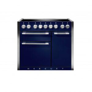 Mercury MCY1000EIBB/ 100cm Induction Range Cooker in Blueberry