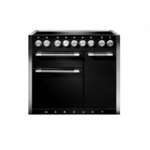 Mercury MCY1000EILQ/ 100cm Induction Range Cooker in Liquorice