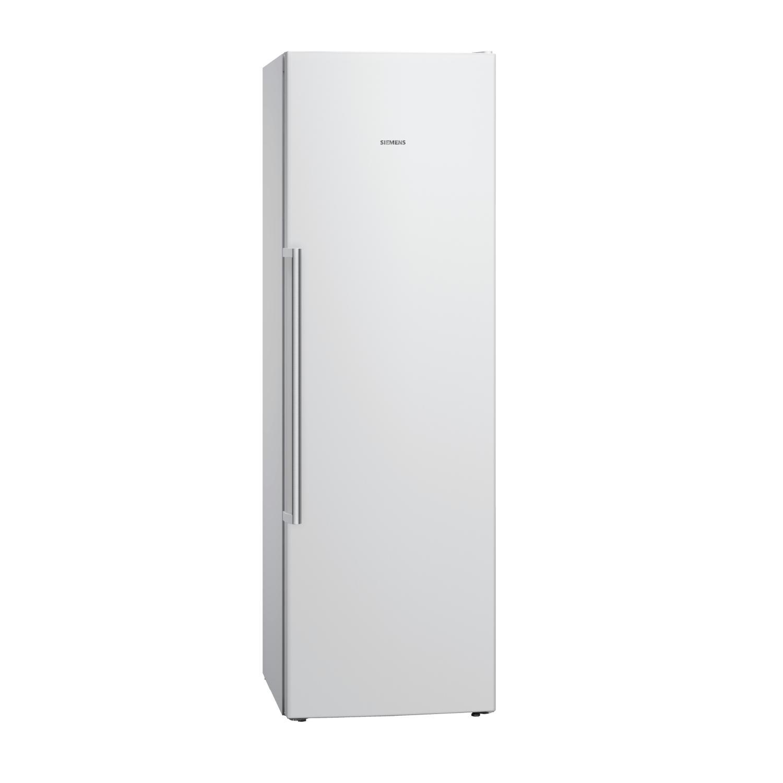 Siemens iQ500 GS36NAW31G No Frost Freestanding Freezer