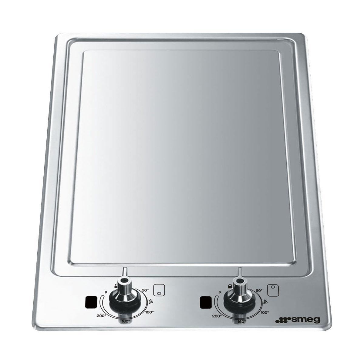 Smeg PGF30T-1 Domino Ultra Low Profile Teppanyaki Hob