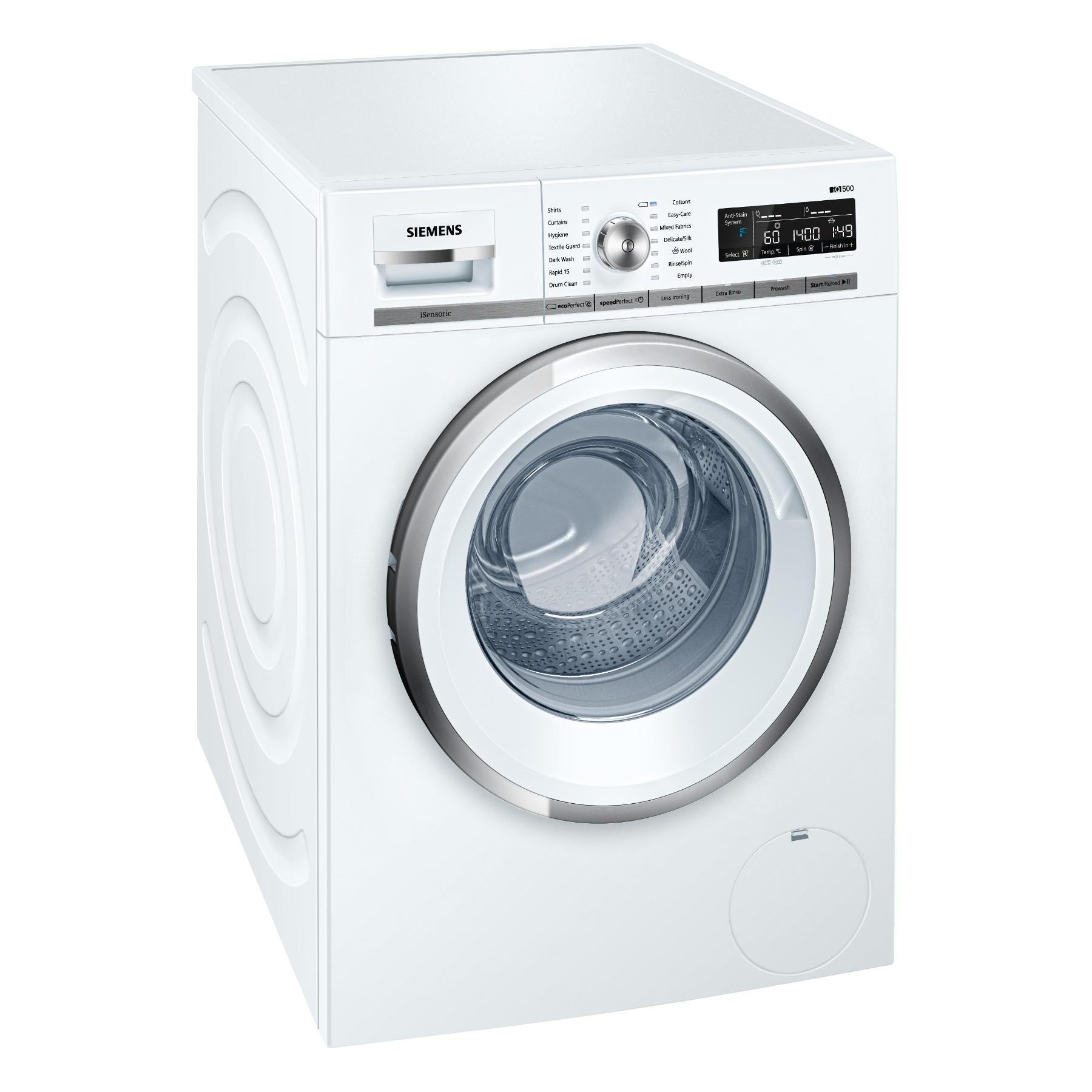 Siemens WM14W590GB iQ500 Front loading automatic washing machine