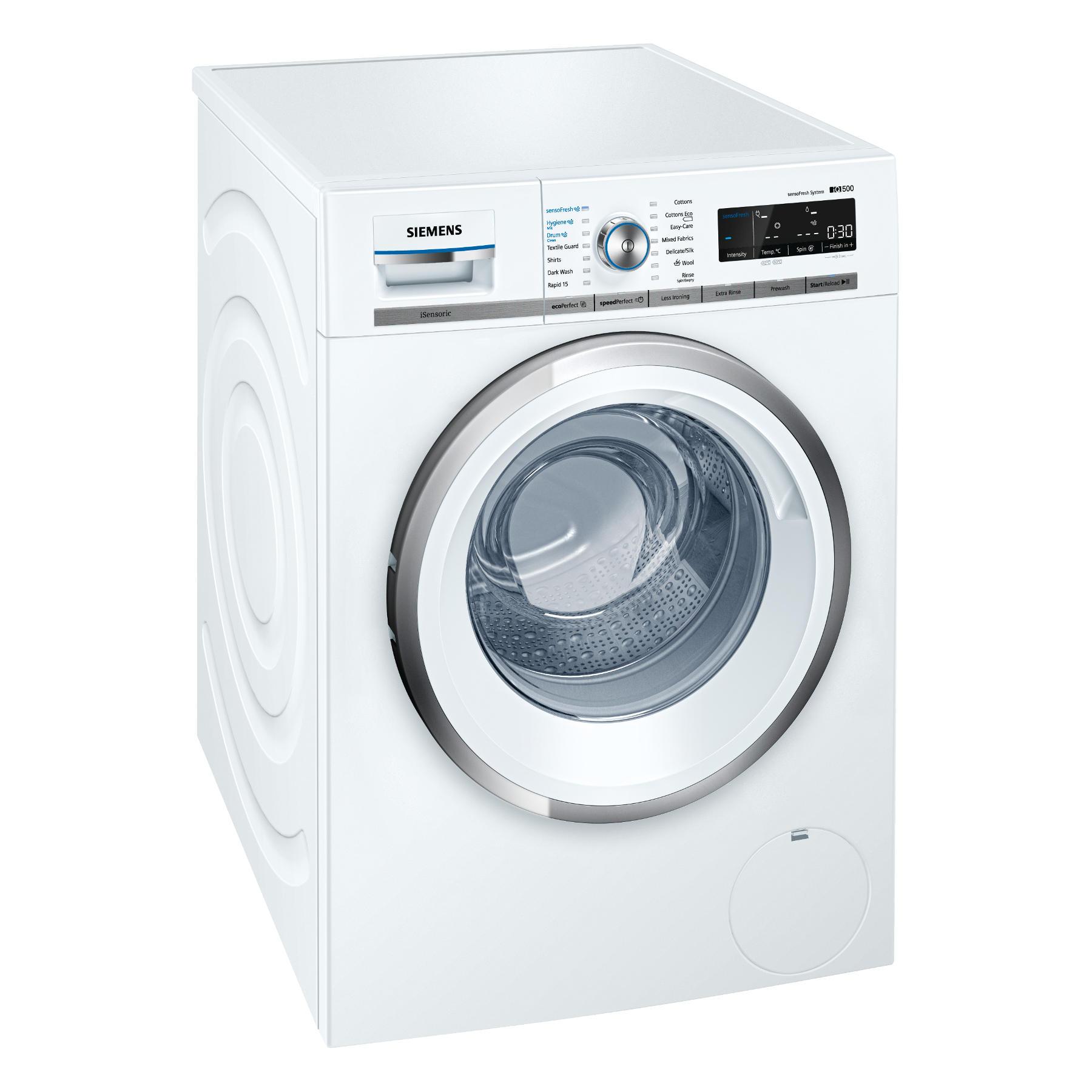 Siemens WM14W750GB iQ500 Front loading automatic washing machine