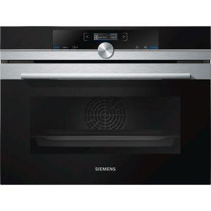 Siemens iQ700 CB675GBS1B Compact Oven