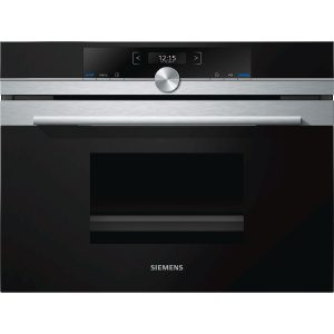 Siemens iQ700 CD634GBS1B Compact Steam Oven
