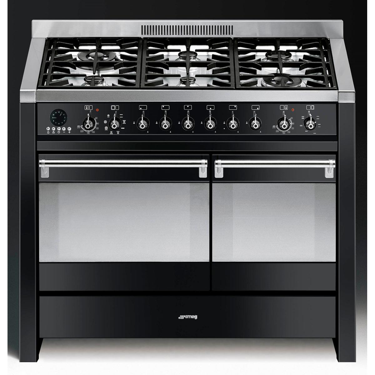Smeg A2BL-8 100cm Opera Dual Fuel Range Cooker