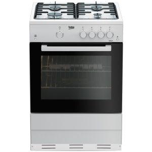 Beko ESG611W Gas Cooker