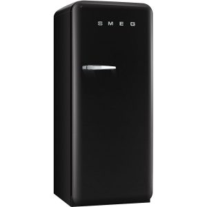 Smeg FAB28QNE1 50's Style Fridge with Freezer Compartment – Black