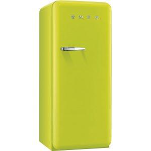 Smeg FAB28QVE1 50's Style Fridge with Freezer Compartment – Lime Green