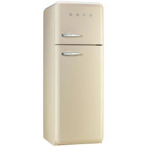 Smeg FAB30RFC 50's Style Retro Fridge Freezer – Cream