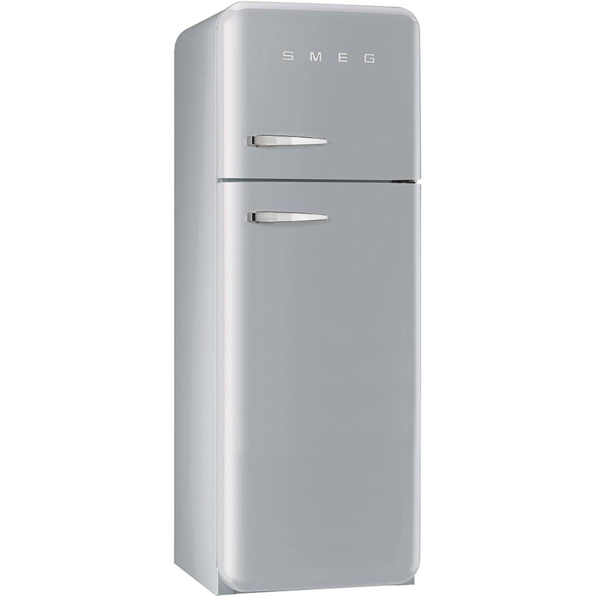 Smeg FAB30RFS 50's Style Retro Fridge Freezer – Silver