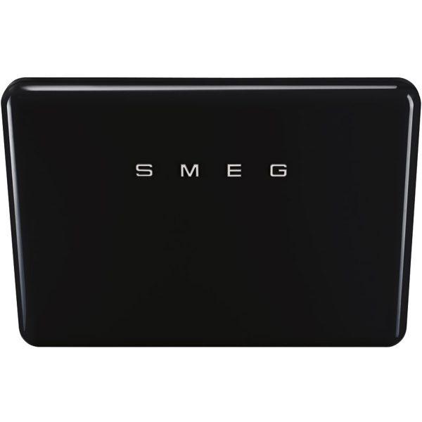 Smeg KFAB75BL New 50's Retro Style Aesthetic 75cm Angled Hood,Black