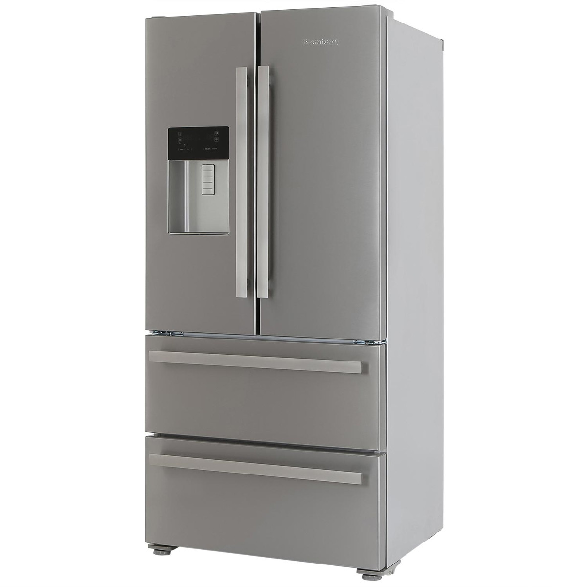 blomberg kfd4952xd american style four door fridge freezer. Black Bedroom Furniture Sets. Home Design Ideas