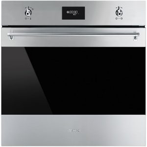 Smeg SFP6378X Classic Built-In Pyrolytic Single Oven - Ex Display