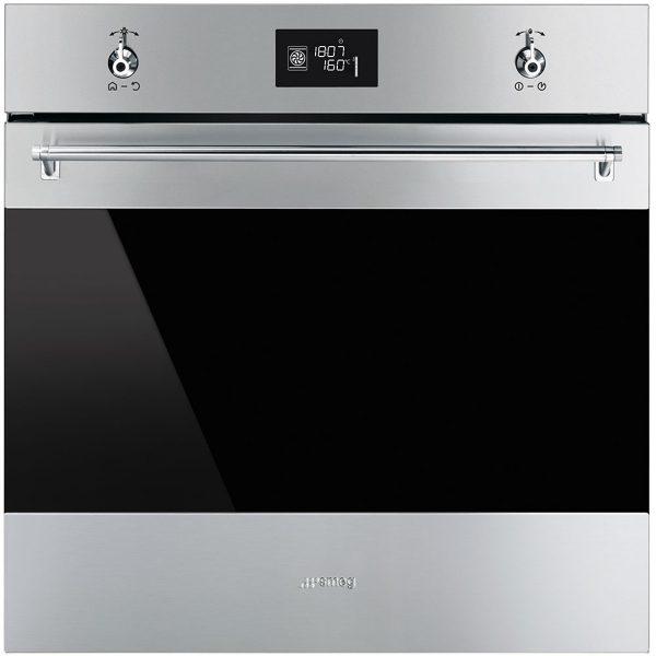 "Smeg SFP6390XE 60cm ""Classic"" Pyrolytic Multifunction Oven"