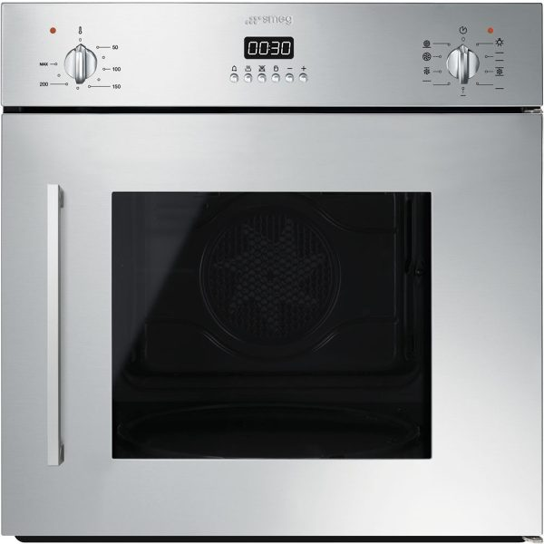 Smeg SFS409X 60cm Cucina Multifunction Side Opening Oven