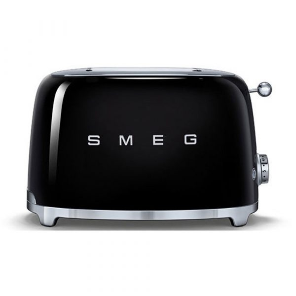 Smeg TSF01BLUK 50's Retro Style 2 Slice Toaster in Black