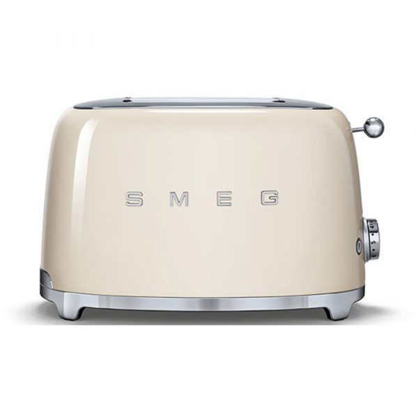 Smeg TSF01CRUK 50s Retro Style 2 Slice Toaster in Cream – Ex Display
