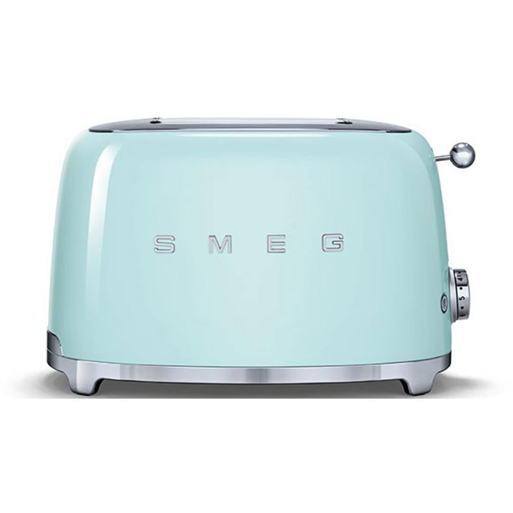 Smeg TSF01PGUK 50's Retro Style 2 Slice Toaster in Pastel Green