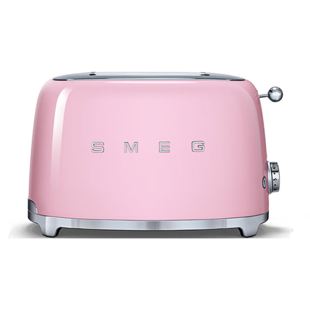 Smeg TSF01PKUK 50's Retro Style 2 Slice Toaster in Pink