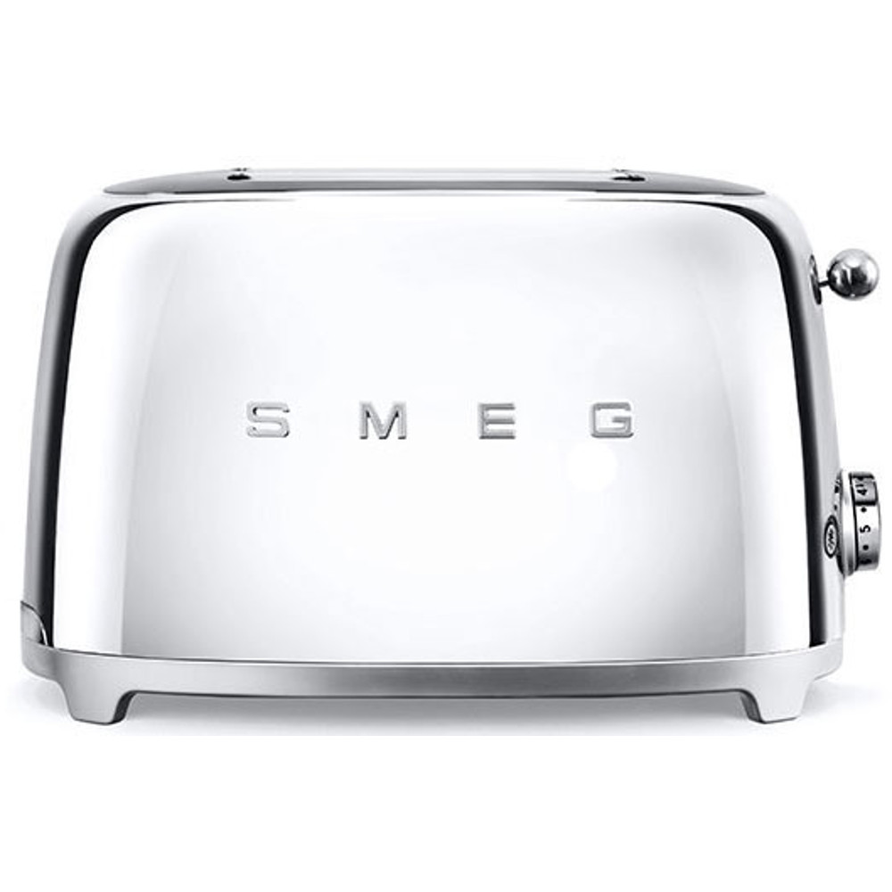 Smeg TSF01SSUK 50's Retro Style 2 Slice Toaster in Stainless Steel