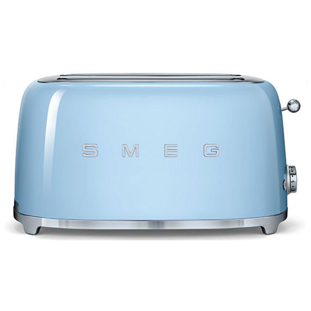 Smeg TSF02PBUK 50's Retro Style 4 Slice Toaster in Pastel Blue
