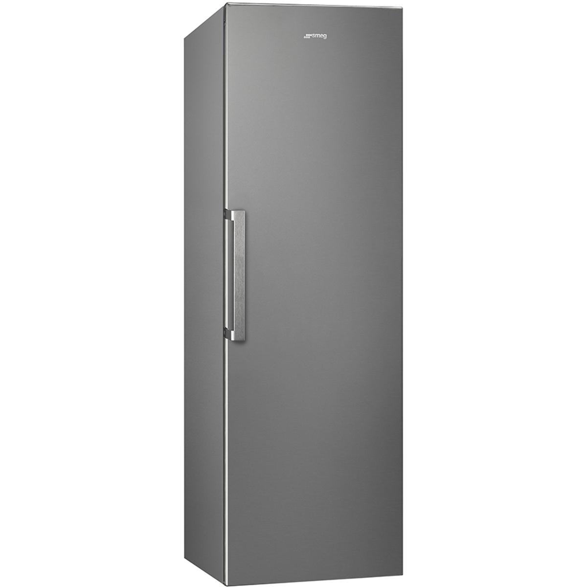 Smeg UK35PX4 Freestanding Larder Fridge with Stainless Steel Effect Doors