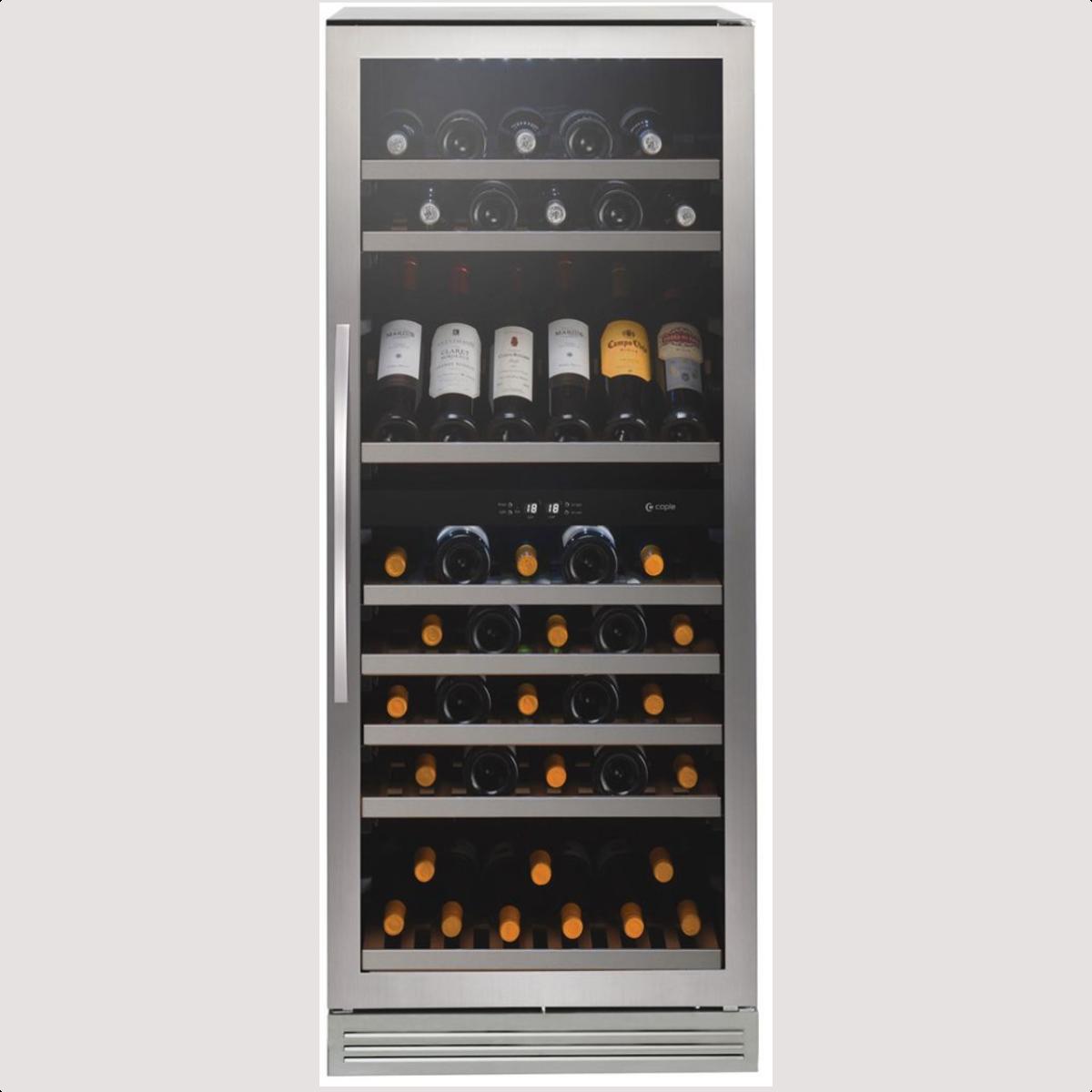 Caple WF1105 Freestanding dual zone wine cabinet H 1390mm