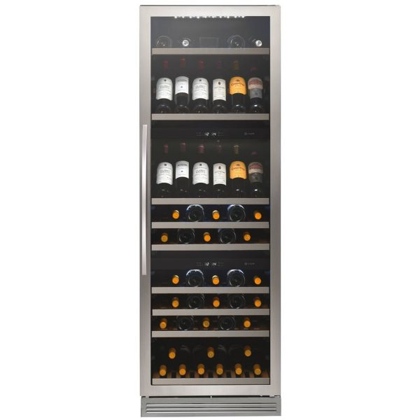 Caple WF1548 Freestanding 3 zone wine cabinet H 1765mm
